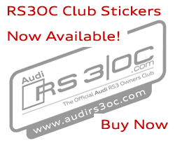 Audi RS3OC Stickers - Buy Now!